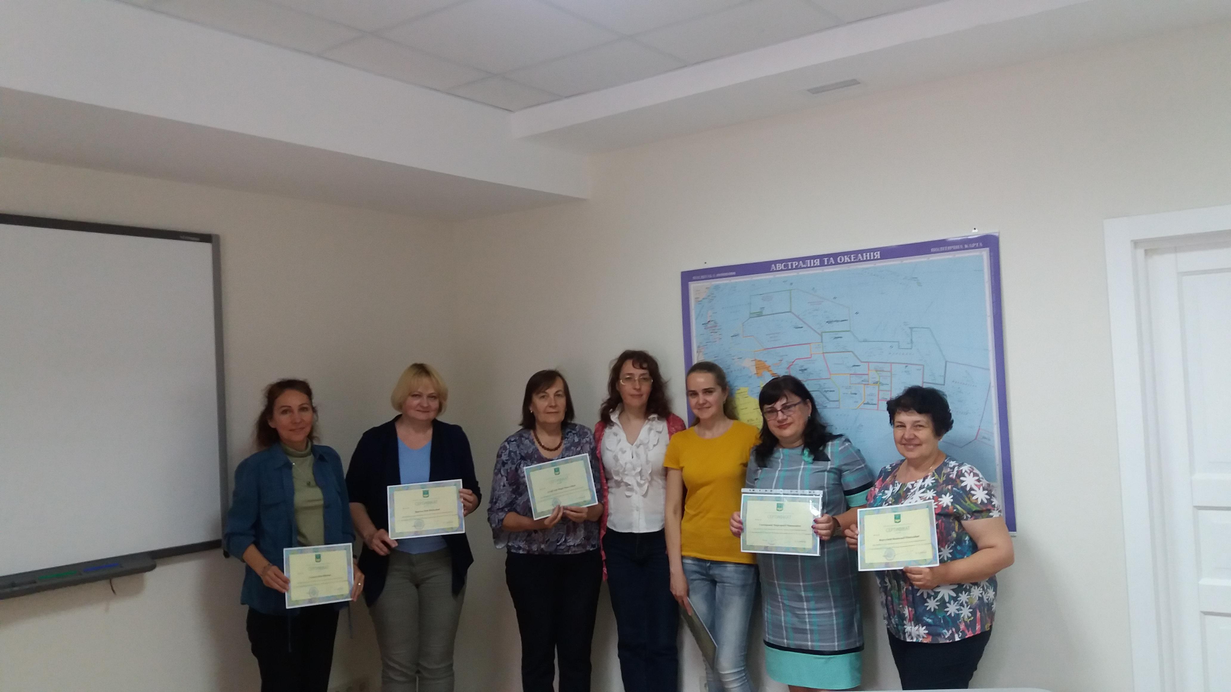15 травня 2018 р. учасники програми «Польська мова» отримали сертифікати  про проходження першої частини курсу і продовжують удосконалювати іншомовну  ... 4002b05417ce2